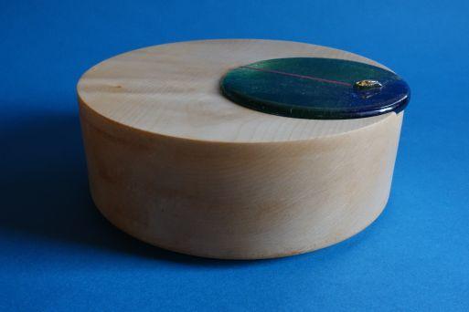 Ahordose exzentrisch mit Glasdeckel D 20cm